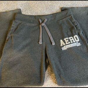 Aeropostale Medium Gray Sweatpants/Loungewear